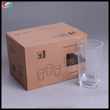 transparent square glass cup, 150ml whisky/tequila glass