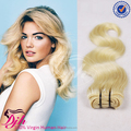 #613 blonde Virgin barzilian Hair Weave 8A Grade 100% Virgin Human Hair Weaving
