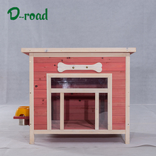 Quality outdoor wooden pet house for dog