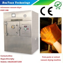 fruit paste concentraction microwave vacuum cold freeze drying machines price