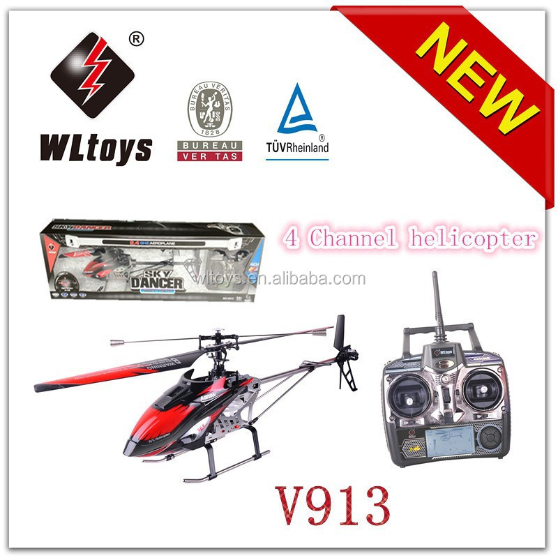WL toys V913 2.4G big 4 channel single blade rc helicopter
