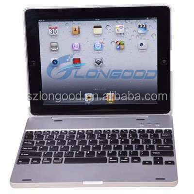 Tablet Case , leather tablet keyboard case, Wireless keyboard case for iPad3
