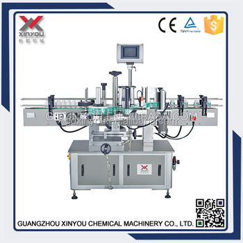 TB-360 plastic bottle labeling machine automatic labeling machine for laundry detergent