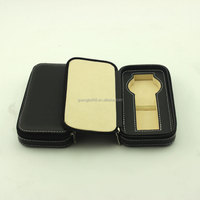 2014 single leather Watch Box /travel bag