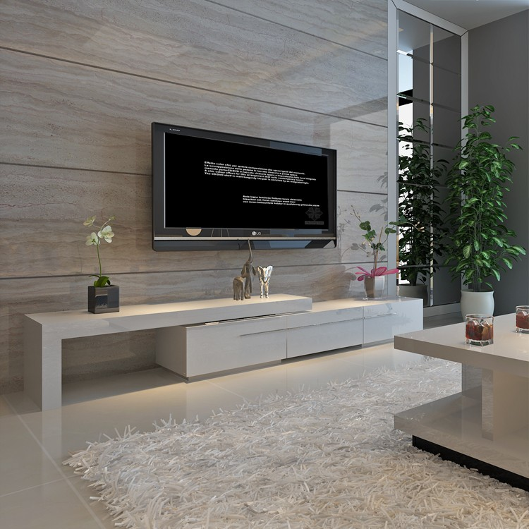 2018 Well designed Customized Modern Wooden TV cabinets