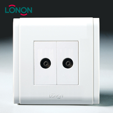 Lonon brand double television socket TV outlet