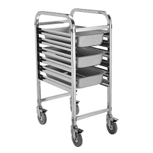 stainless steel kitchen trolley/food service cart with wheels equipment BN-T18