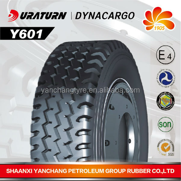 China hot seller yanchang truck tyre 10.00R20-16PR in Cambodia