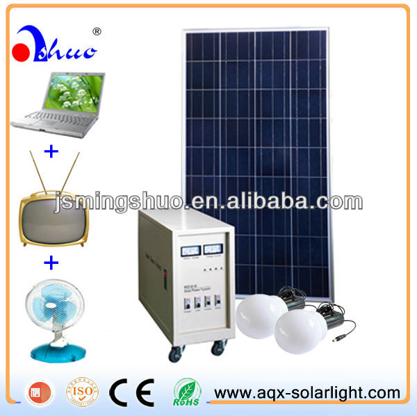 Solar Home Lighting System 100W kit,Emergency Energy Light.