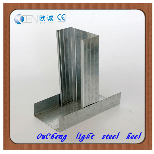 Galvanized light gauge steel studs price