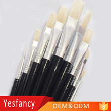 most affordable hog bristle hair long wood handle artist oil painting brush artistic impressions paintings