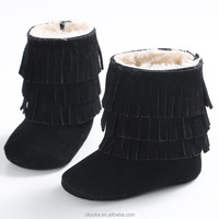 Buy Tessels Desgin black color girl style winter Boots soft sole ...