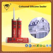 Weatherproof Coloured Silicone Sealer Masitc gum silicone sealant