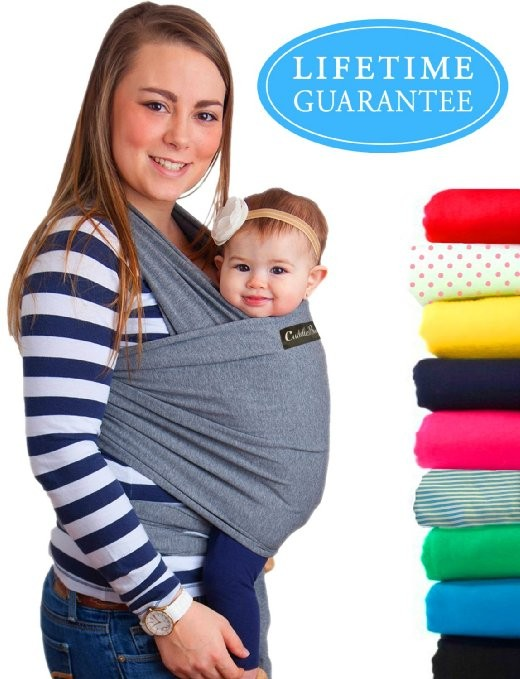 Baby Wrap Carrier | Soft Baby Carrier | Baby Sling Carrier | Postpartum Belt | Nursing Cover | Best Baby Shower Gift