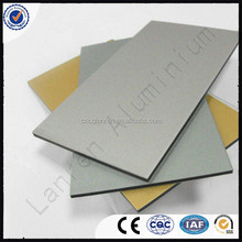 wall finishing material/decorative aluminum composite panel price
