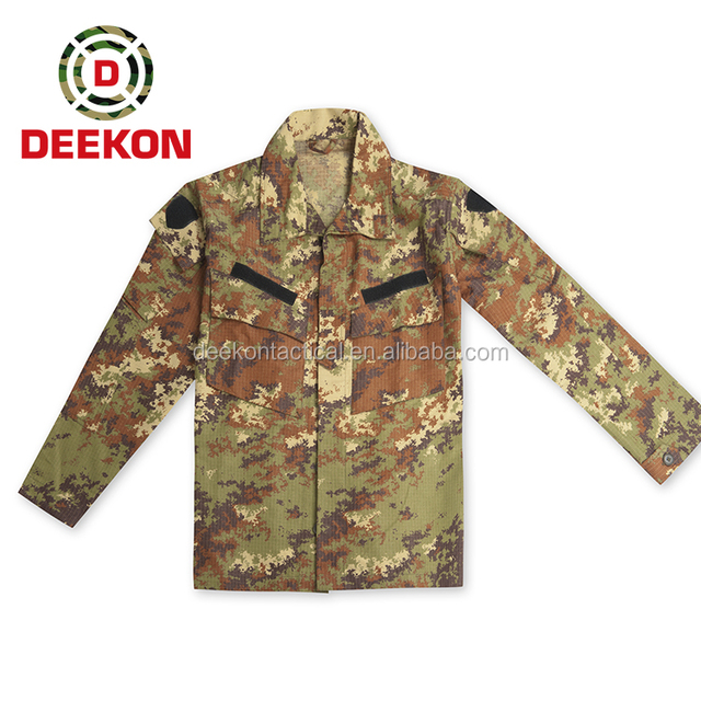 Top Quality Vegetato Woodland Army Camouflage Uniform