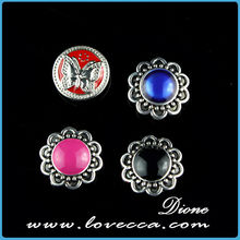 Fashion Crystal Snap Button,Wholesale Metal Snap Button,Metal Snap Button With Diamond