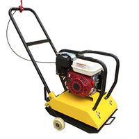 Durable walk behind plate compactor