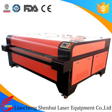 Shenhui 100w 130w runner table laser cut leather for shoes
