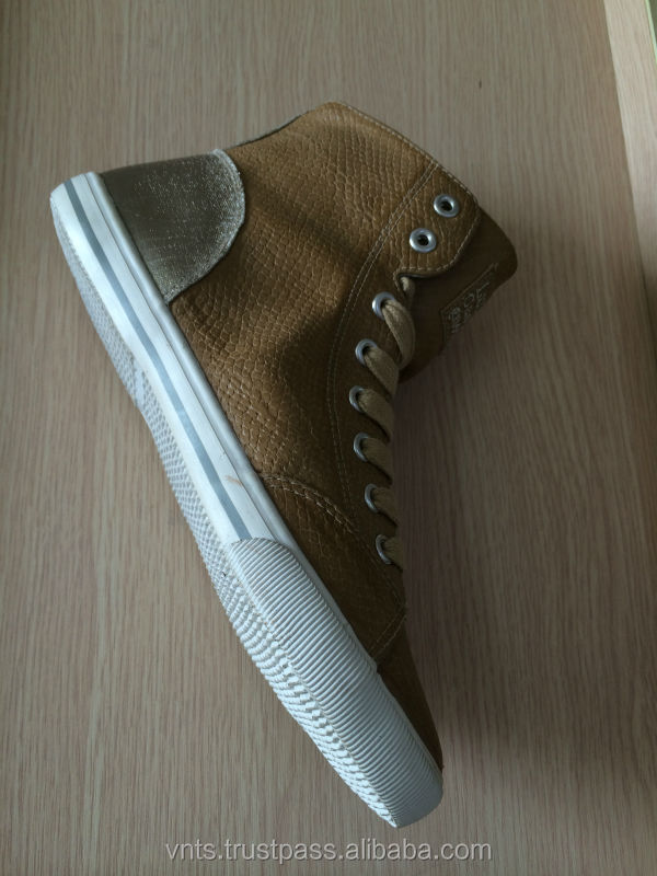 high ankle men canvas shoes