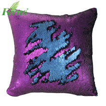 Purple Magic Reversible Sequin Pillow/Mermaid Pillow