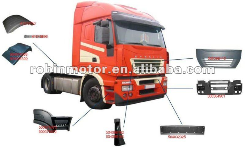 IVECO STRALIS AS truck body parts