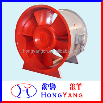 HY-HTF High Temperature Fire Protection Axial Flow Fan/Ventilator