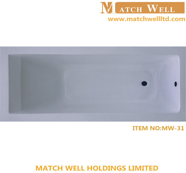 low price acrylic bath tub bathroom mirror led lighted
