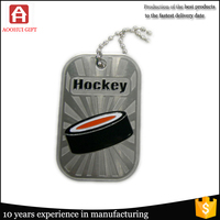 Top factory price souvenir dog tags for kids