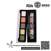wholesale smooth soft textures Intense Shine Eye Shadow Palette