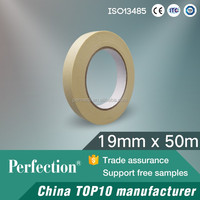 Steam indicator autoclave tape for sterilization packaging