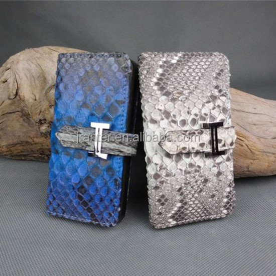 Custom 100% Python Snakeskin for Iphone 6 Wallet Case,for Iphone 6 Flip Cover
