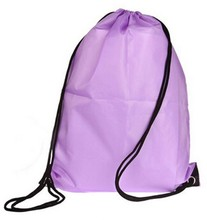 Cheap Goods From China Plain Color Drawstring Sport Backpack