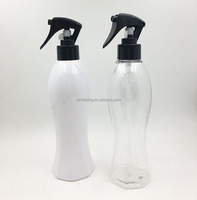 hot sale new product empty bottles with trigger sprayer 300ml mini Agricultural liquid packing bottle