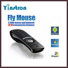 T2 2.4GHz wireless 3D Game Sensing Remote Controller Fly Air Mouse for Laptop mini pc tv box
