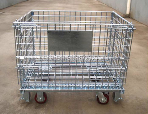 Protable Storage Wire Metal Container
