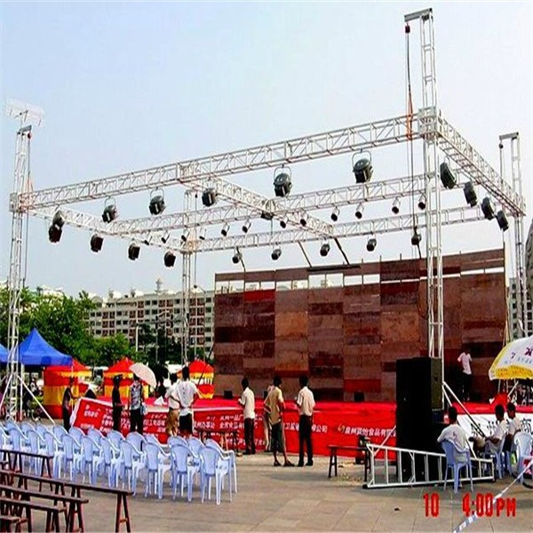 outdoor truss system lighting stage truss aluminum frame truss canopy