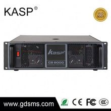 High quality outdoor power amplifier bass tube with amplifier