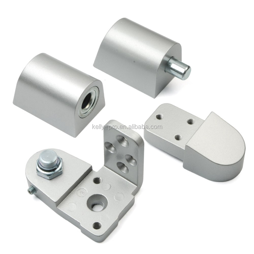 Commercial Door Aluminum Offset Pivot Hinge Set