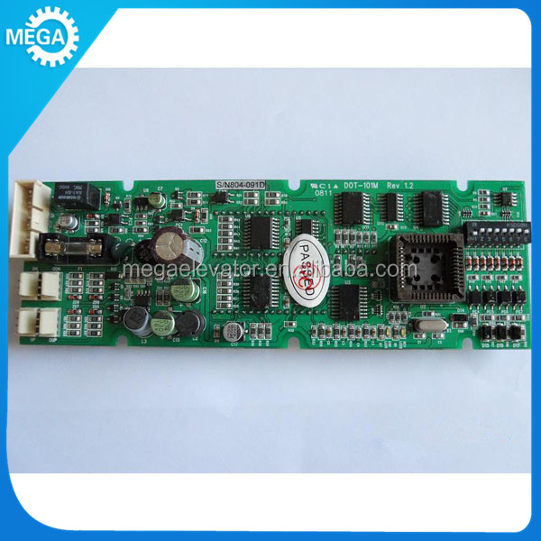 LG Sigma elevator PCB board ,elevator display DOT-101M