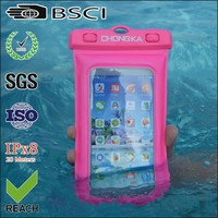 Hot Factory Price Waterproof Mobile Phone Dry Case For Diving