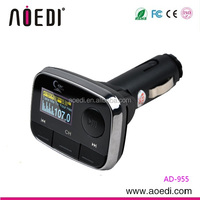 New fashion design brand auto radio car mp3 fm converter with line-in function AD-955