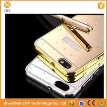 Ultra Slim Gold Mirror Aluminum Metal Bumper Back Cover Case For Huawei Honor 4X