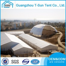 China Made Large Outdoor Aluminum White PVC Window Pagoda Luxury Tent House With Linings And Curtains For Wedding