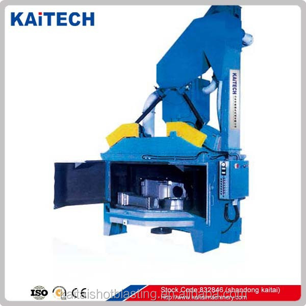 Q3512 turntable table type shot cleaning equipment / blasting cleaning machine