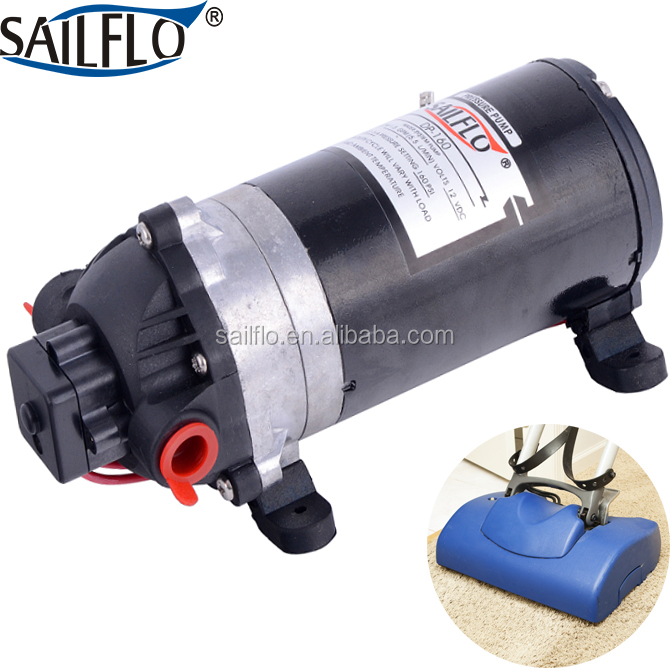 Sailflo 12v dc 160psi mini diaphragm pump high pressure electric car washing machine