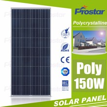Top quality 150W Poly PV Modules solar panel price from china