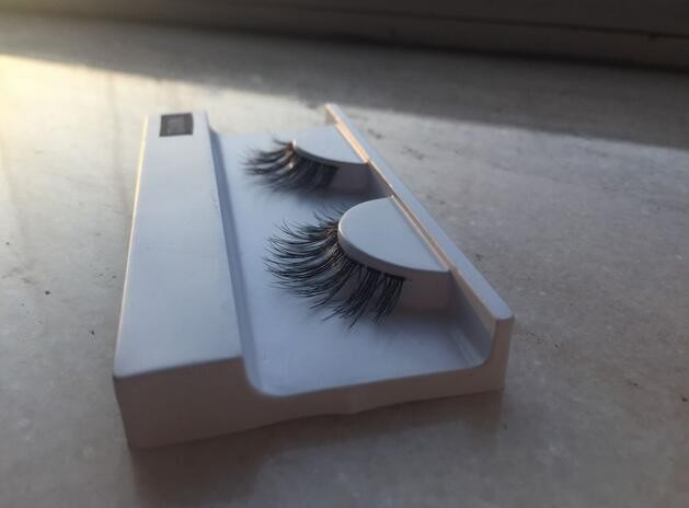 OEM service Makeup lashes 100% human hair false eyelash