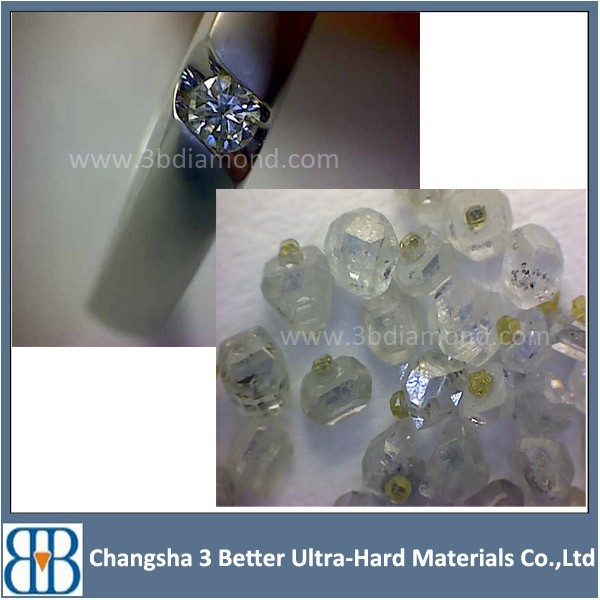 HTHP White diamond for jewellery use/white hpht diamond