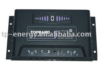 Solar charger controller for lifepo4 battery 3001 12/24V30A